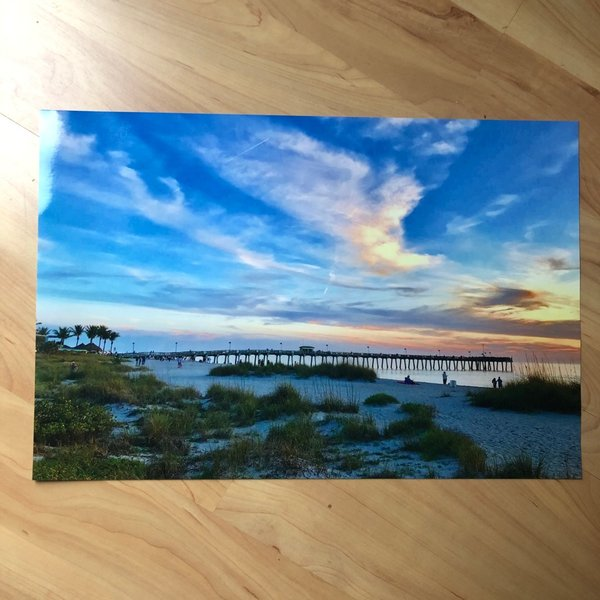 "Foto-Poster ""Venice Fishing Pier in Florida"" 30x44 cm"